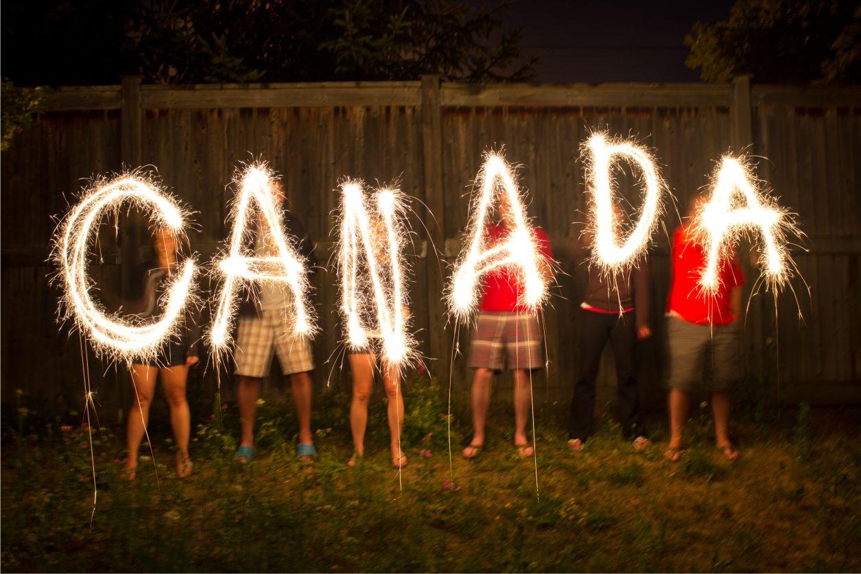 Canada Day Breckles